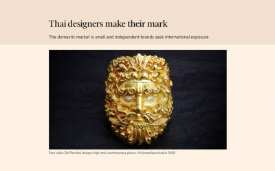 Financial Times – Thai designers make their mark