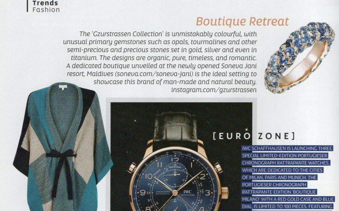 Feature in Etihad Airways' inflight magazine, Atlas, Jan 2017